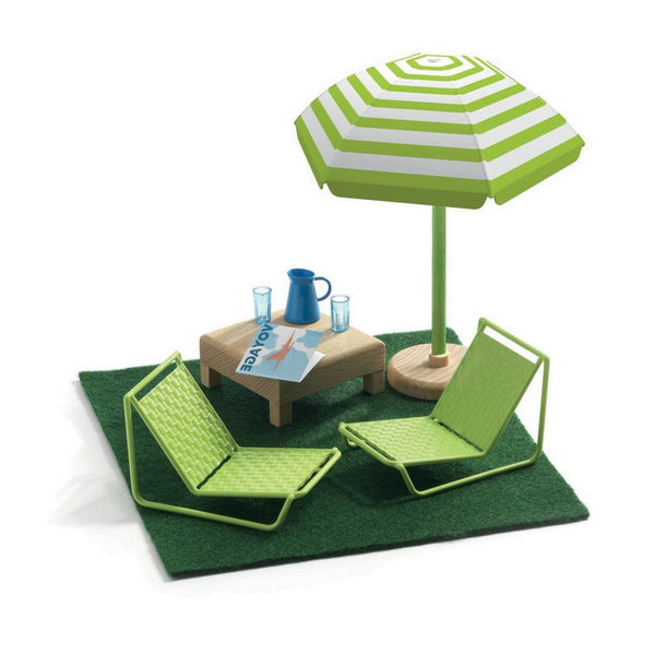 The Terrace Dollhouse Furniture -Mon Petite Home Range by Djeco