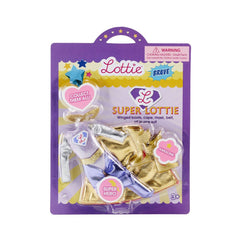 Superhero Lottie Doll Accessory Set