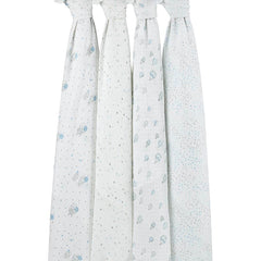 Baby Swaddles by Aden and Anais - Night Sky 4 Pack