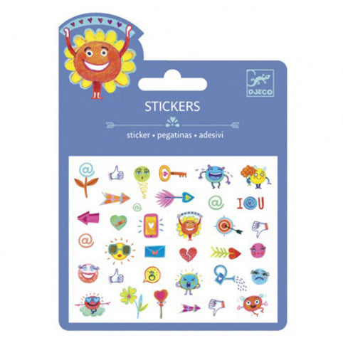 Symbols Stickers by Djeco