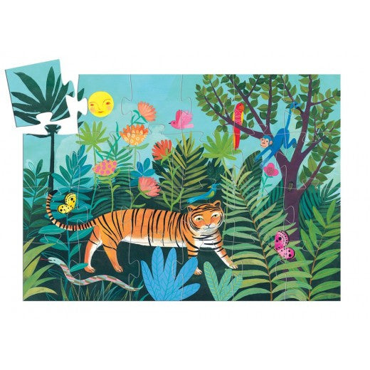 The Tiger's Walk Jigsaw by Djeco