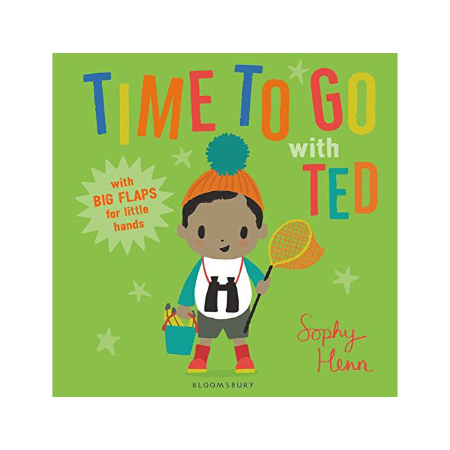 Time To Go With Ted by Sophy Henn