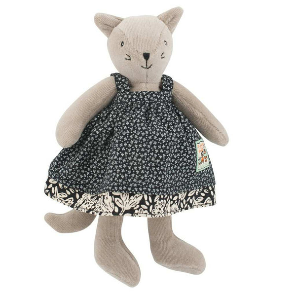 Agathe Cat Plush Toy by Moulin Roty