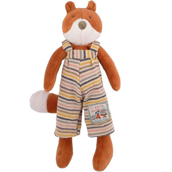 Gaspard Fox Plush Toy by Moulin Roty