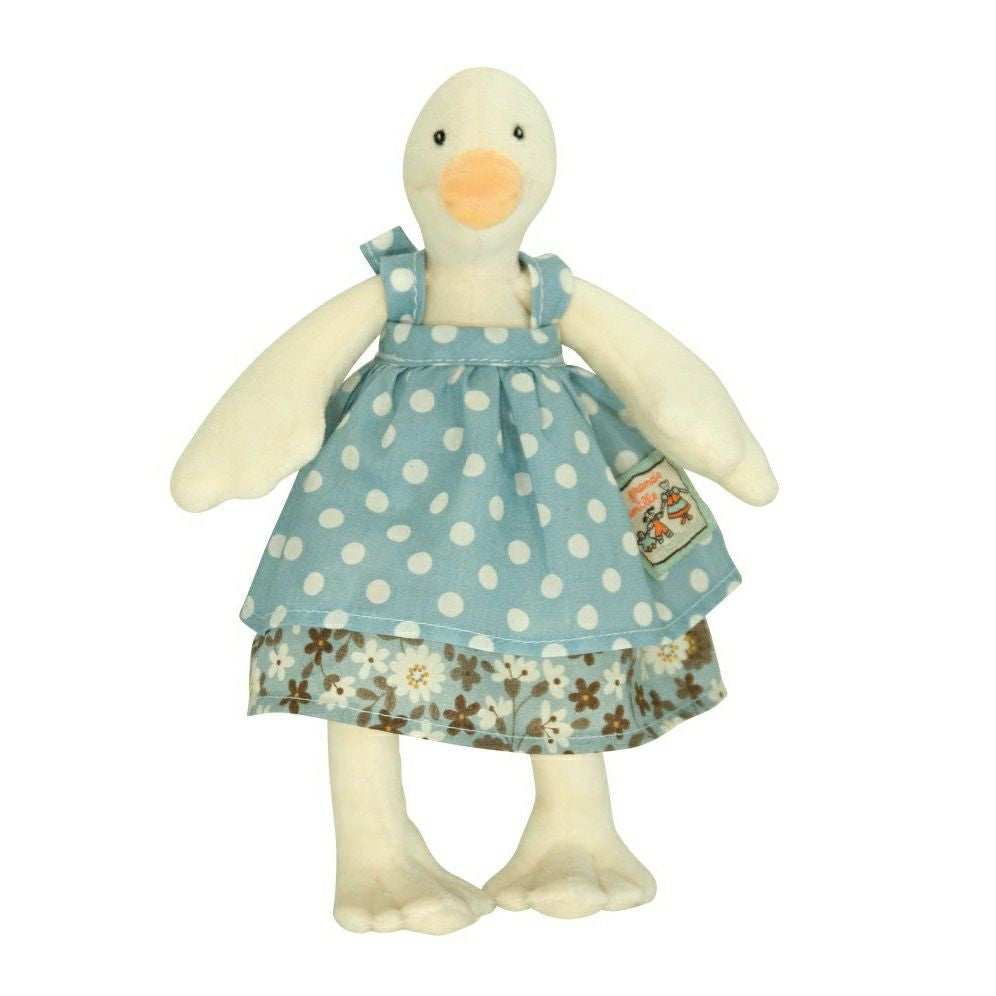 Jeanne Duck Plush Toy by Moulin Roty