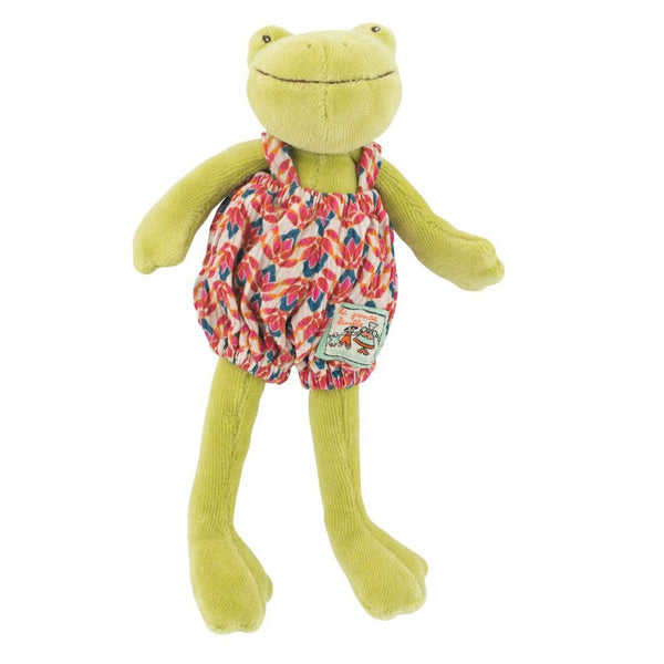 Perlette the Plush Frog by Moulin Roty