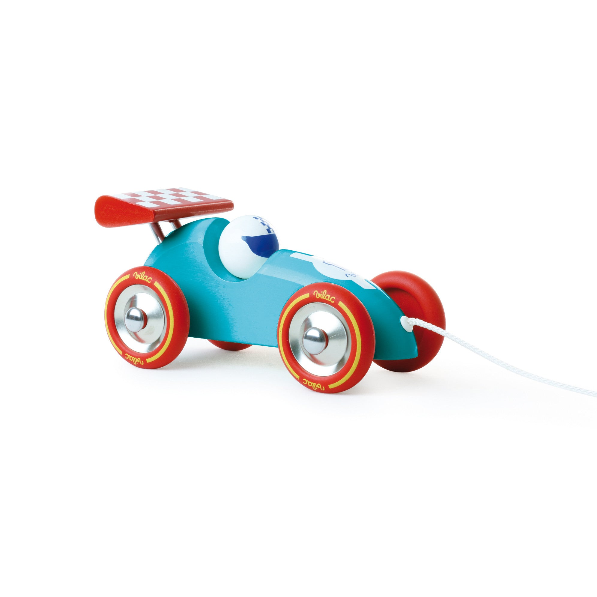 Racing Car Pull Along by Vilac - Little Citizens Boutique