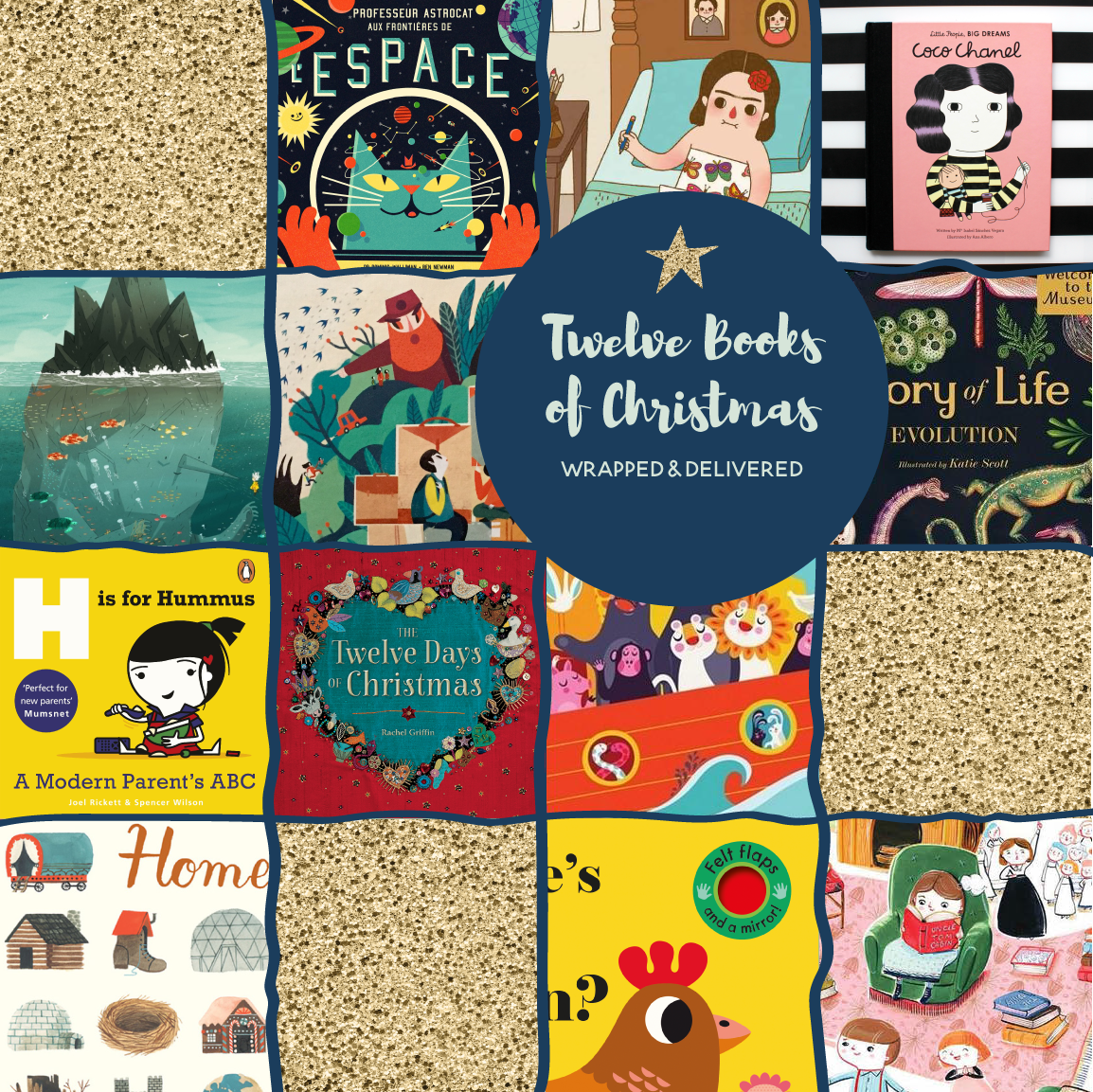 Twelve Books of Christmas