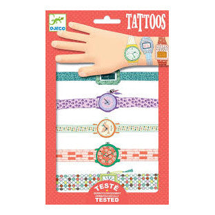Watch Tattoos by Djeco