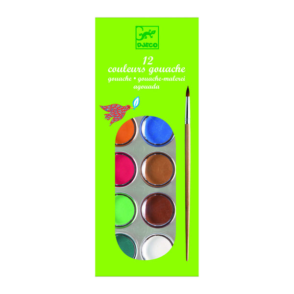 Gouaches Watercolours - Set of 12