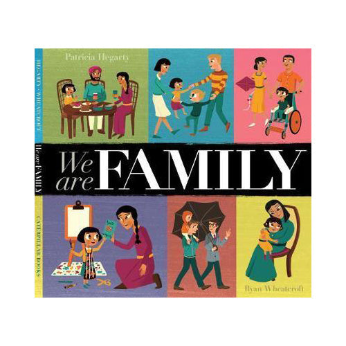 We Are Family Book by Patricia Hegarty and Ryan Wheatcroft
