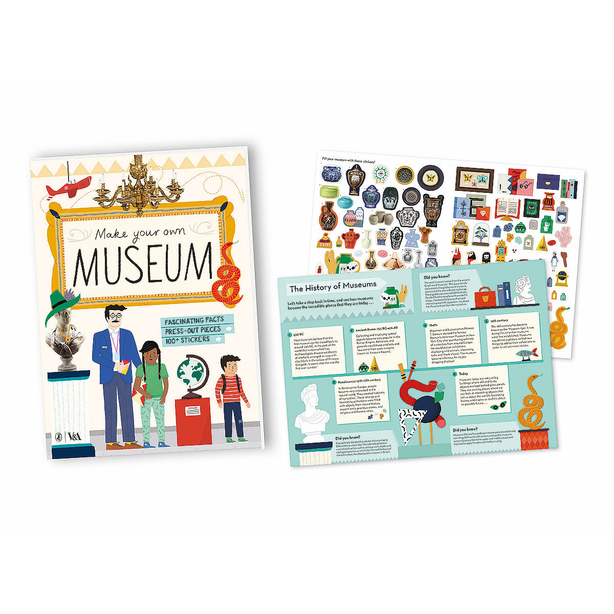 Welcome to the Museum Fold Out Book