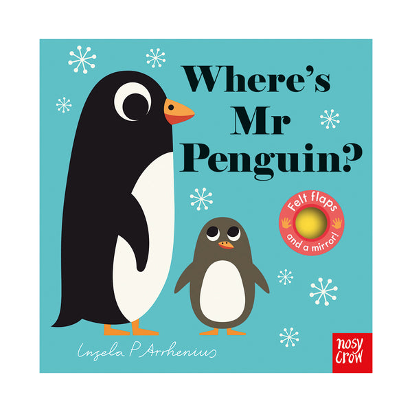 Where's Mr Penguin Hide and Seek Book, Illustrated by Ingela Arrhenius