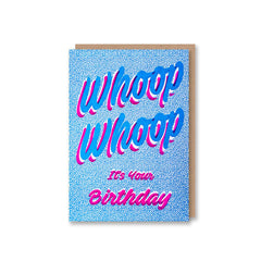 'Whoop Whoop' Birthday Card from Sukie