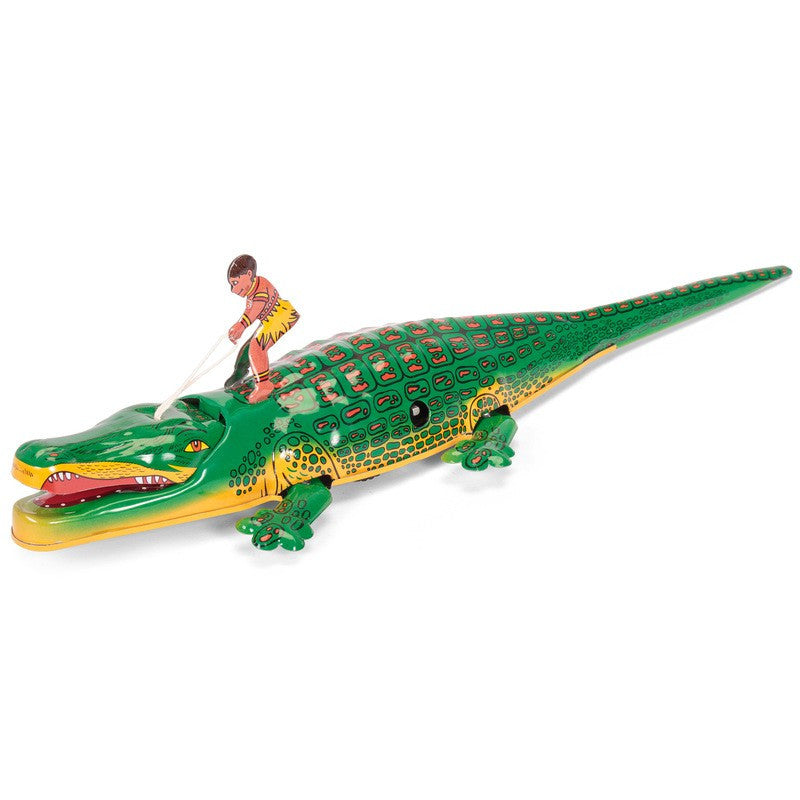 Wind Up Tin Crocodile by Tobar