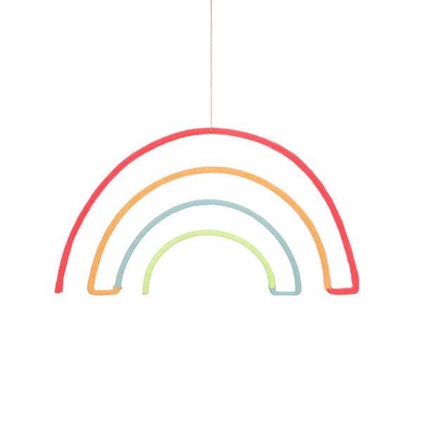 Wire Wool Rainbow Mobile from Meri Meri