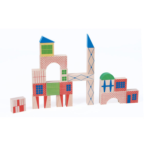 40 Piece Building Blocks by Moulin Roty