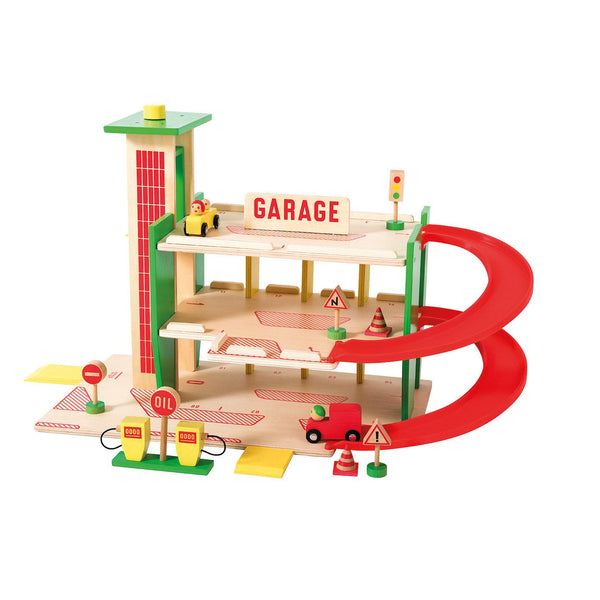 Wooden Garage by Moulin Roty