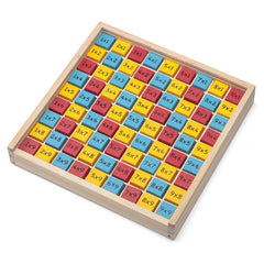 Multiplication Times Table Wooden Game by Tobar