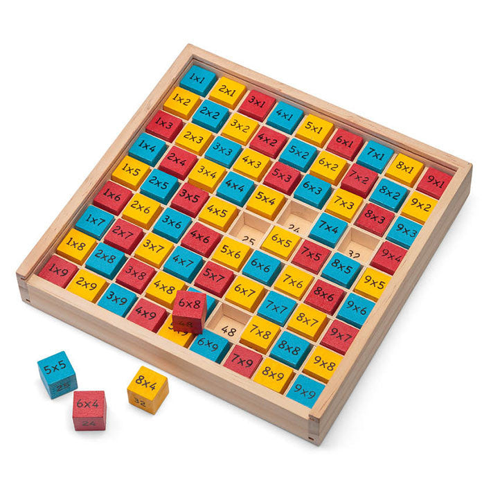 Wooden Times Table Board by Tobar - Little Citizens Boutique