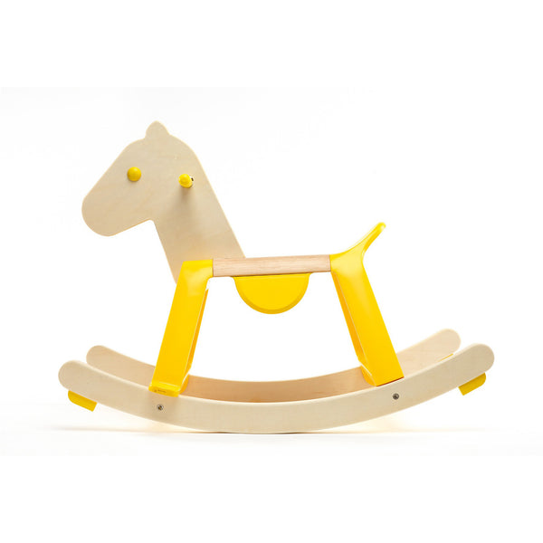 Yellow Rock'It Horse by Djeco