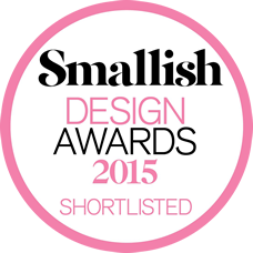 Smallish Design Awards 2015 badge