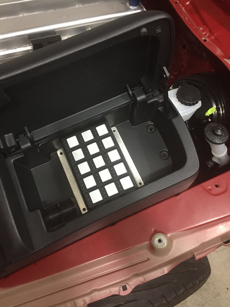 CPR MKIV Supra MoTeC Keypad Mount - Center Console Location