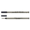 Xezo Speedmaster Black Rollerball Refills - Pack of 2