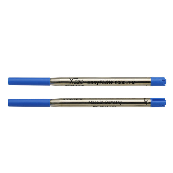 Xezo Speedmaster 9000-1 Blue Ballpoint Gel Refills - Pack of 2