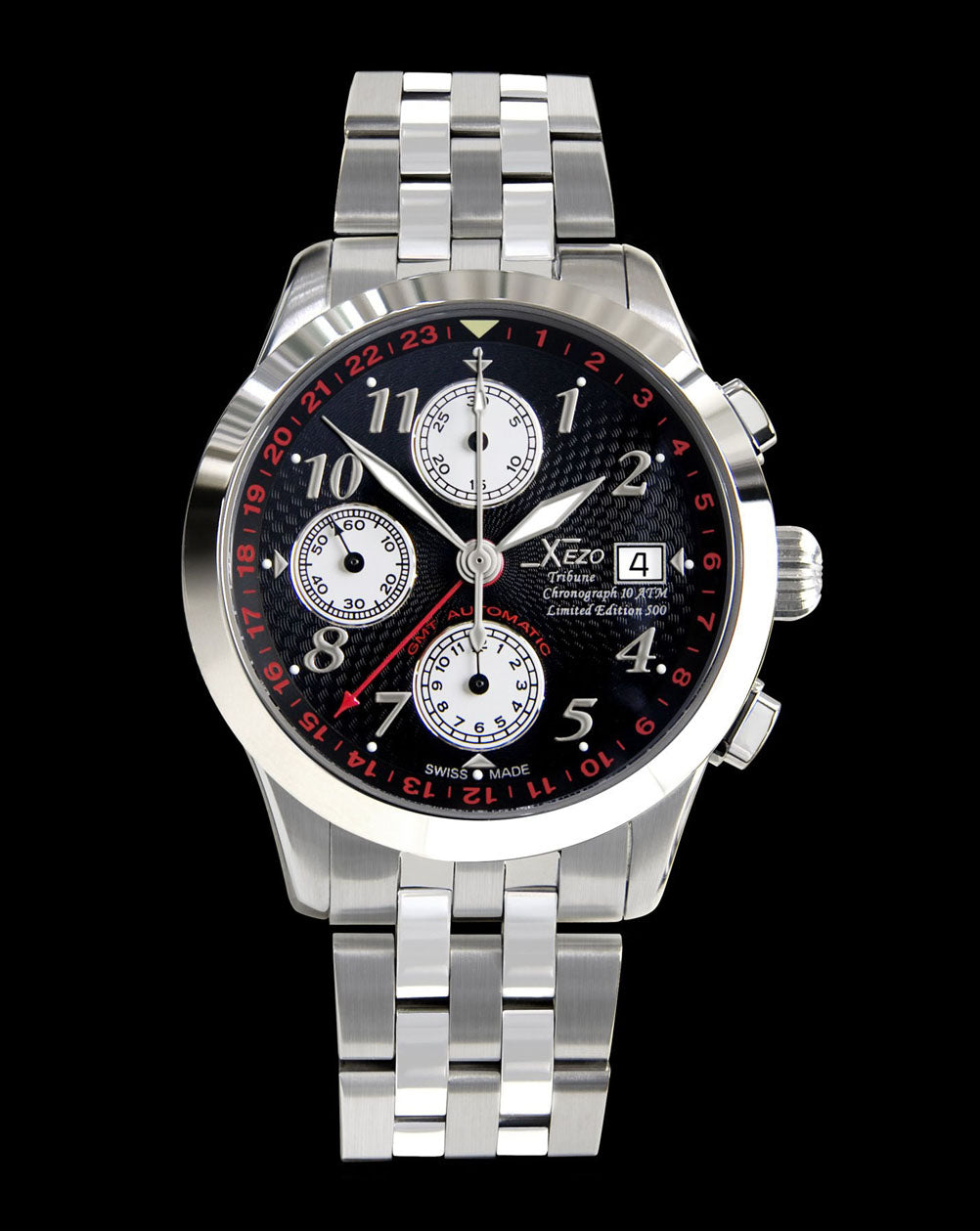 Tribune Chronograph GMT Valjoux 7754