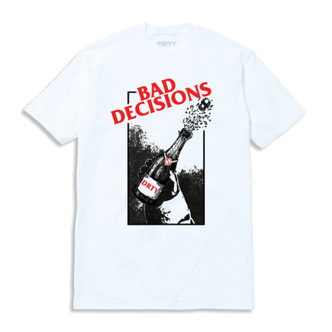 BAD DECISIONS TOUR TEE