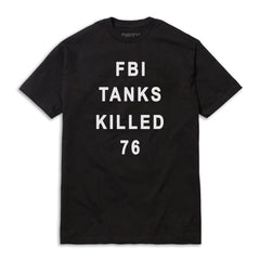 FBI WACO TEE BLACK
