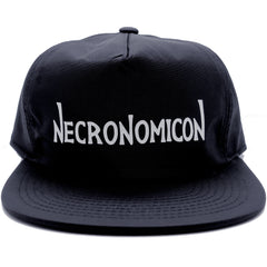 NECRONOMICON NYLON CAP BLACK