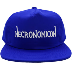 NECRONOMICON NYLON CAP BLUE