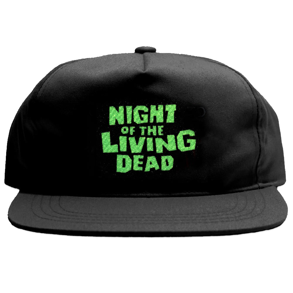 NIGHT OF THE LIVING DEAD CAP BLACK