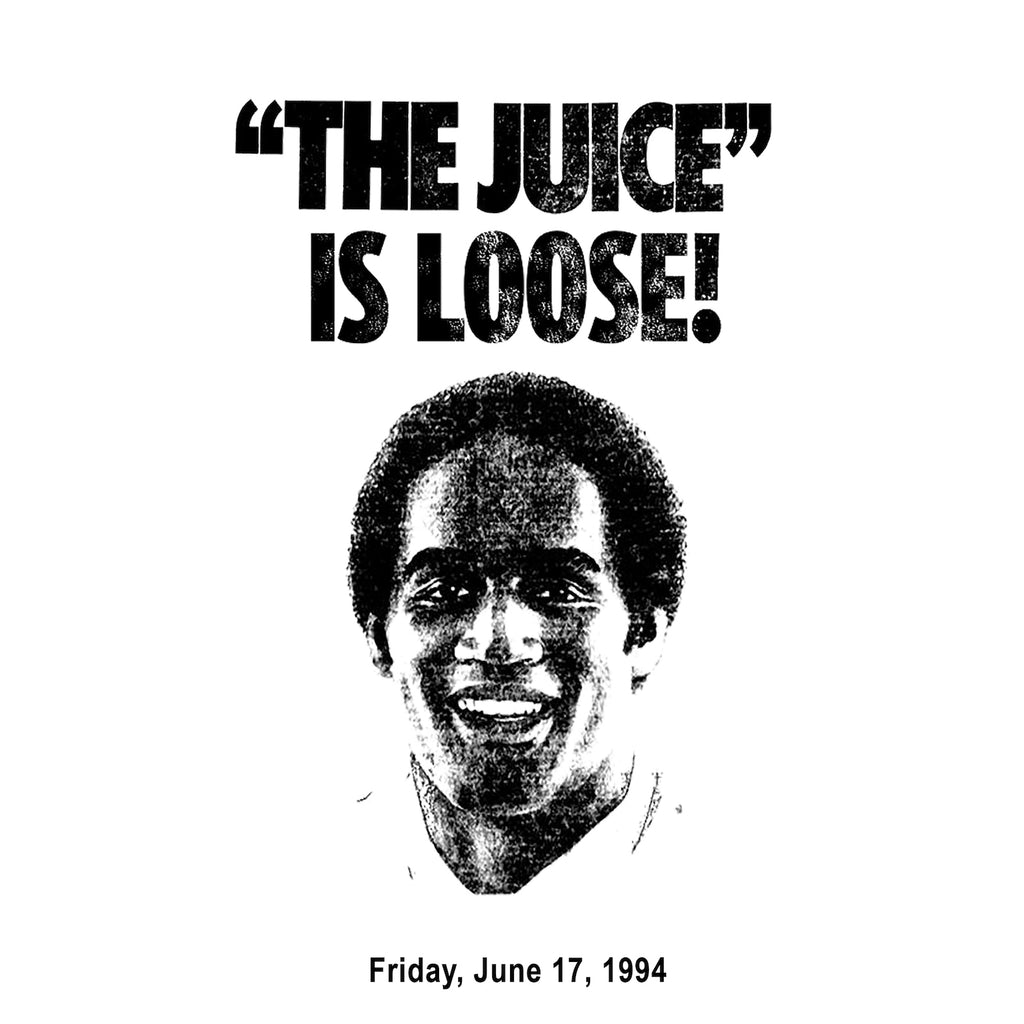 THE JUICE IS LOOSE BOOTLEG TEE