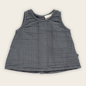 A-line Top, Charcoal