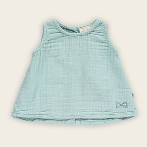 A-line Top, Green Tea