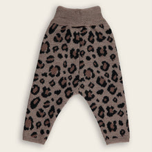 Load image into Gallery viewer, Knit Baby Long Pants, Leopard