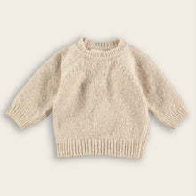 Load image into Gallery viewer, Knit Baby Sweater, Oat
