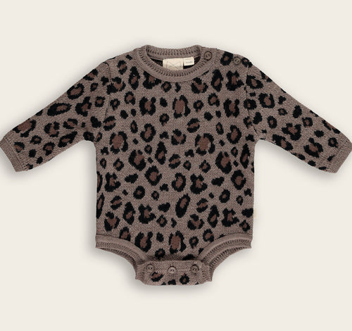 Knit Body, Leopard