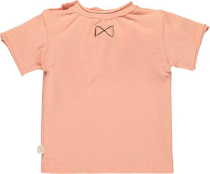 Salmon Short Sleeve Top