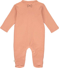 Load image into Gallery viewer, Patterned Salmon Babygrow