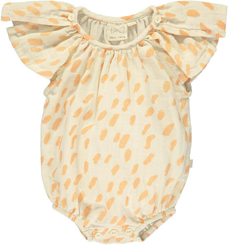 Vanilla Butterfly Sunsuit