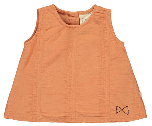 Salmon A-Line Top