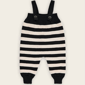 Body Suit, Oatmeal and Black, Stripes