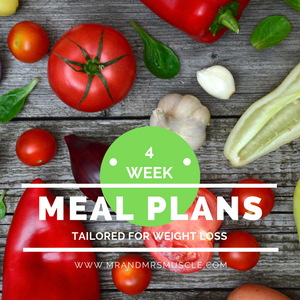 meal plan mrandmrsmuscle