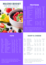 Load image into Gallery viewer, Vol.2 Omnivore Weight Loss Meal Plan - 4 Weeks