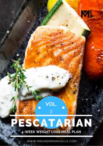 Vol.2 Pescatarian Weight Loss Meal Plan - 4 Weeks