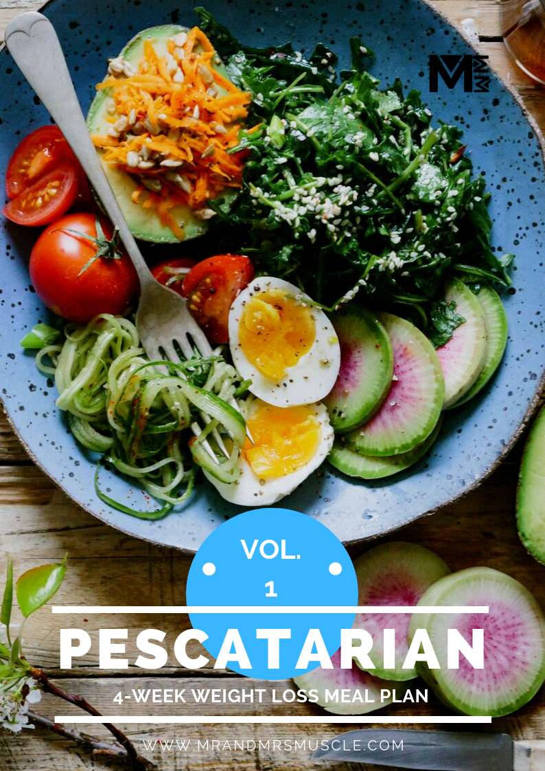 Pescatarian Weight Loss Meal Plan - 4 Weeks